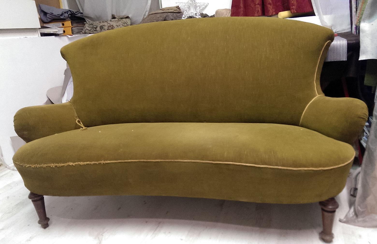 Sofa - před očalouněním