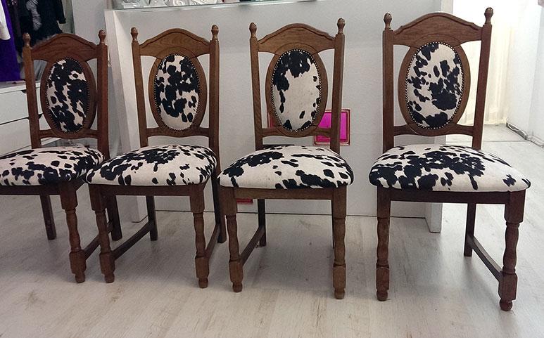 Čalounění židlí