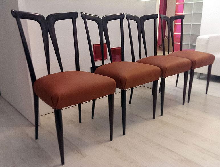 Nové čalounění - italské židle