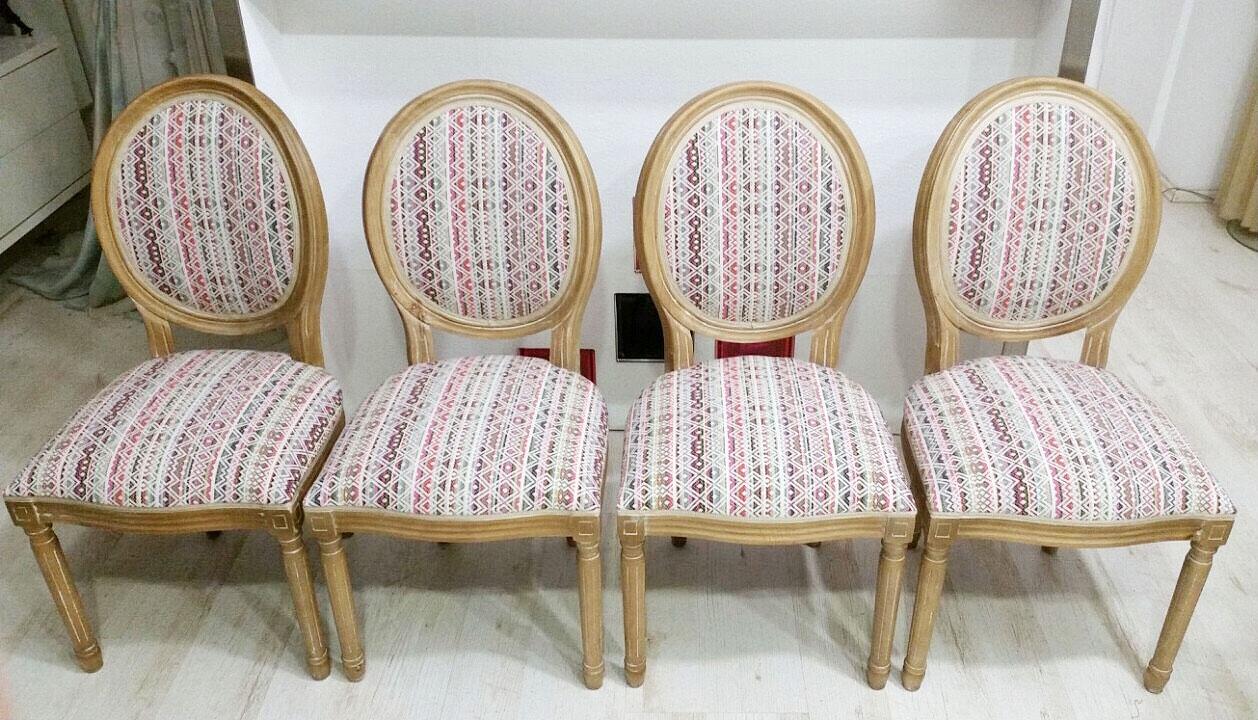Židle v látce z kolekce PARADA